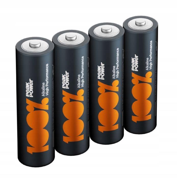 40x bateria alkaline GP PEAK POWER R3 AAA paluszek Rok produkcji 2020