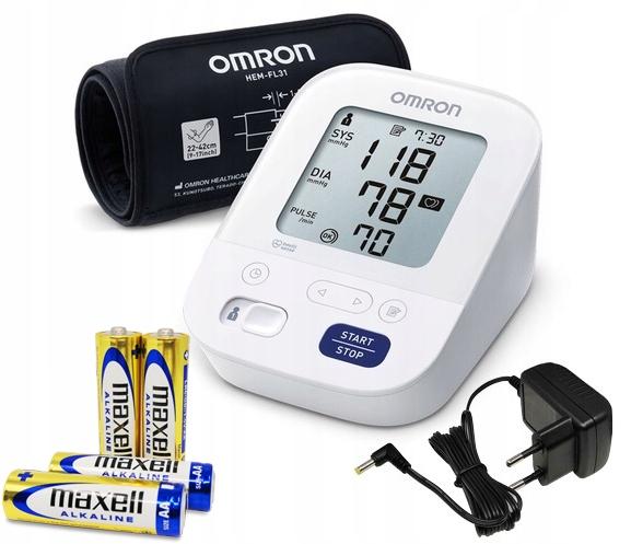 OMRON M3 Comfort Sunet Automatické + napájanie