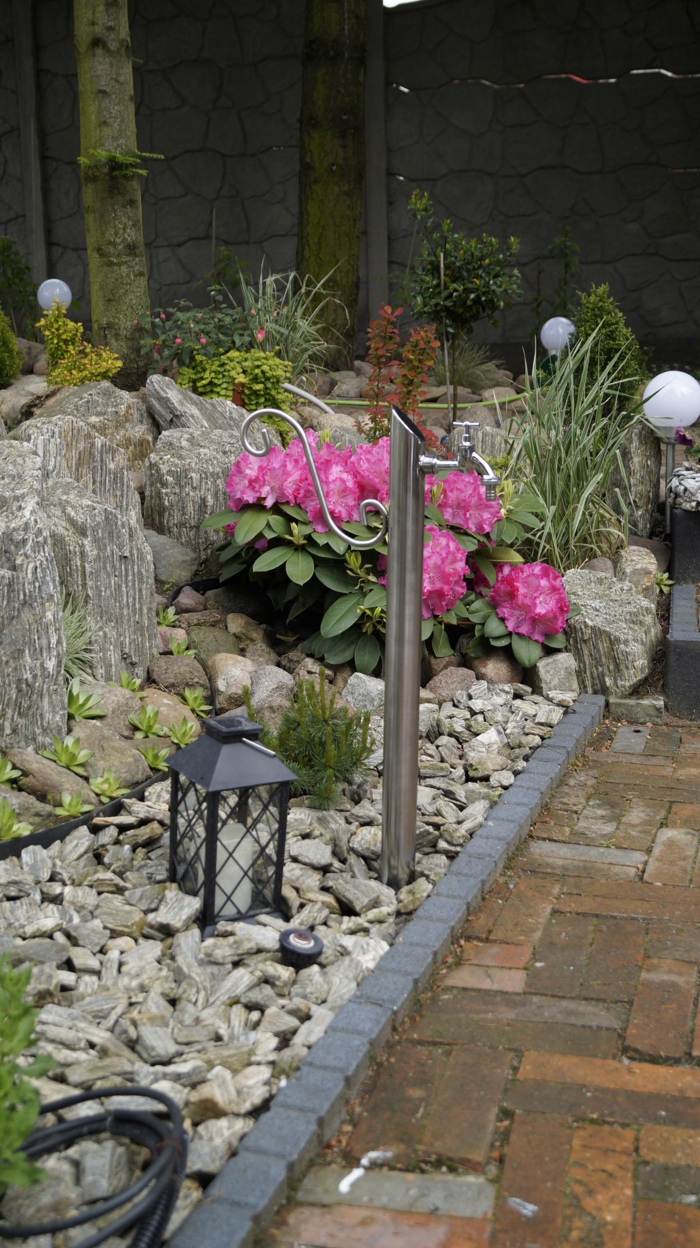 Kran Ogrodowy hydrant 70cm INOX kranik słupek Waga produktu z opakowaniem jednostkowym 4 kg
