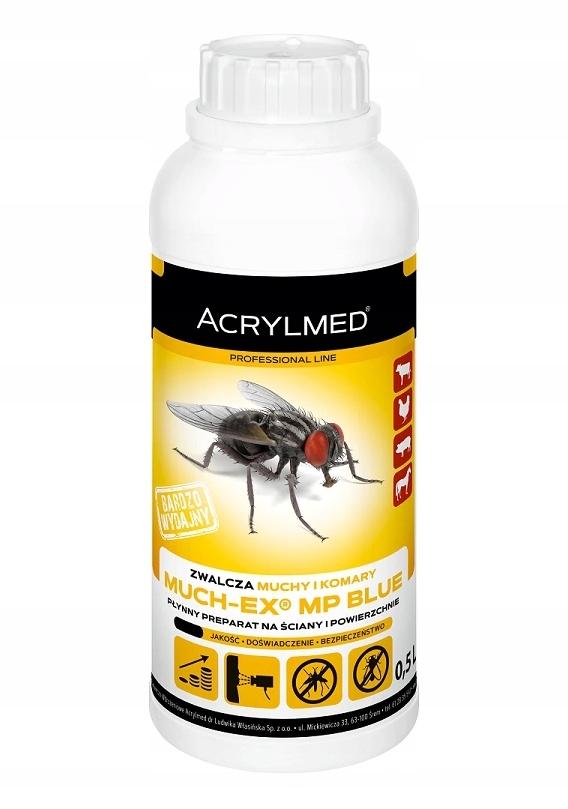 Жидкий препарат для уничтожения мух и комаров 0,5 л