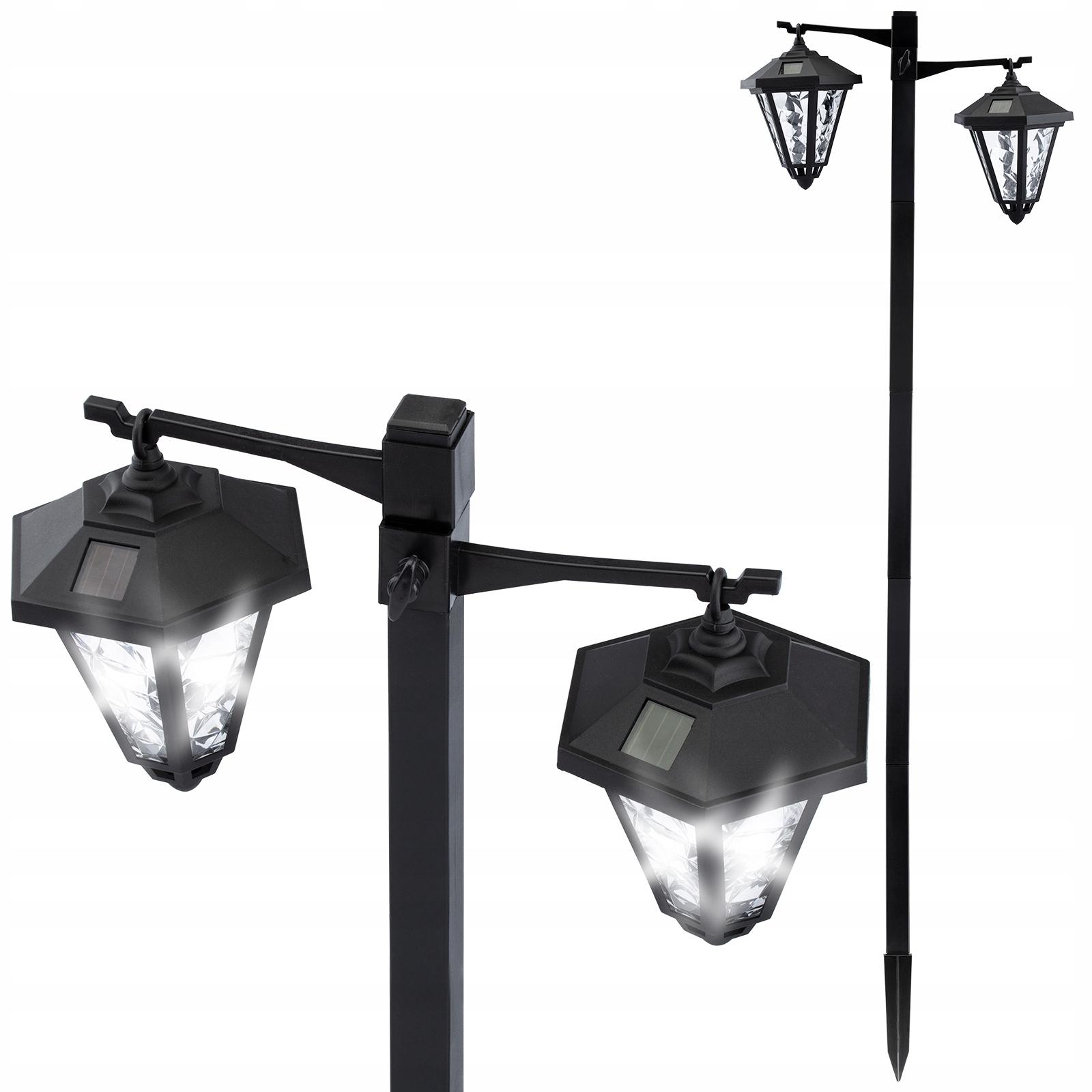Lampa Ogrodowa LED Solarna Wbijana Latarnia EVERA