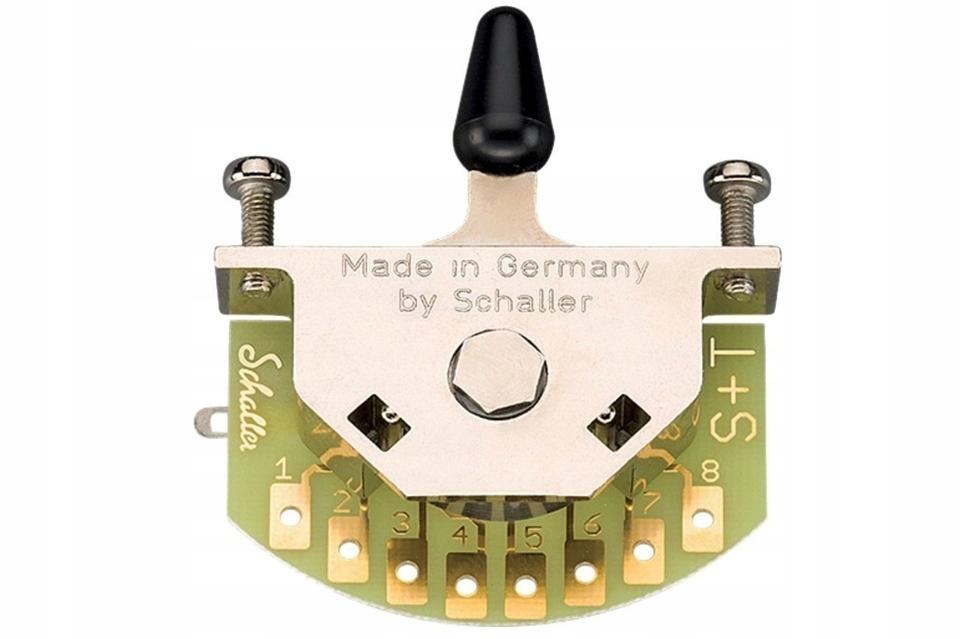 Schaller SC901330 5-pozitívny gitarový spínač