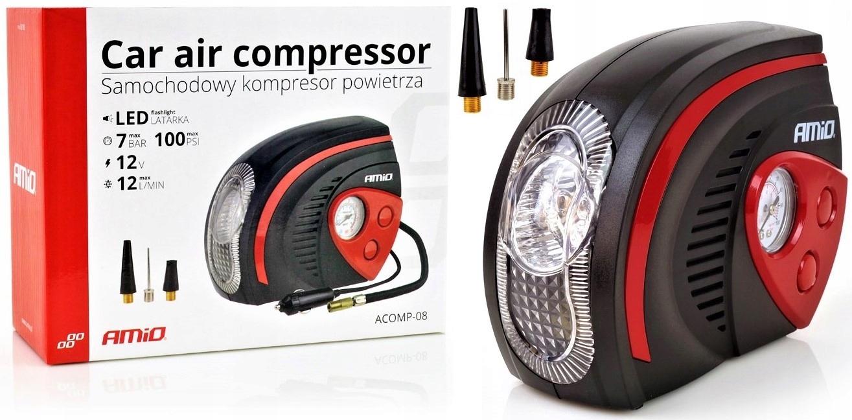 Компрессор компрессора автомобиля 12 В колесный насос