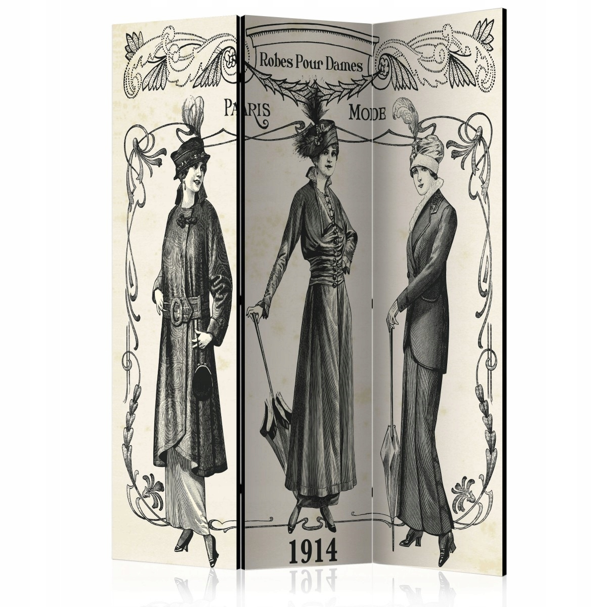 Displej 135x172 dekoratívne Vintage Štýle Retro