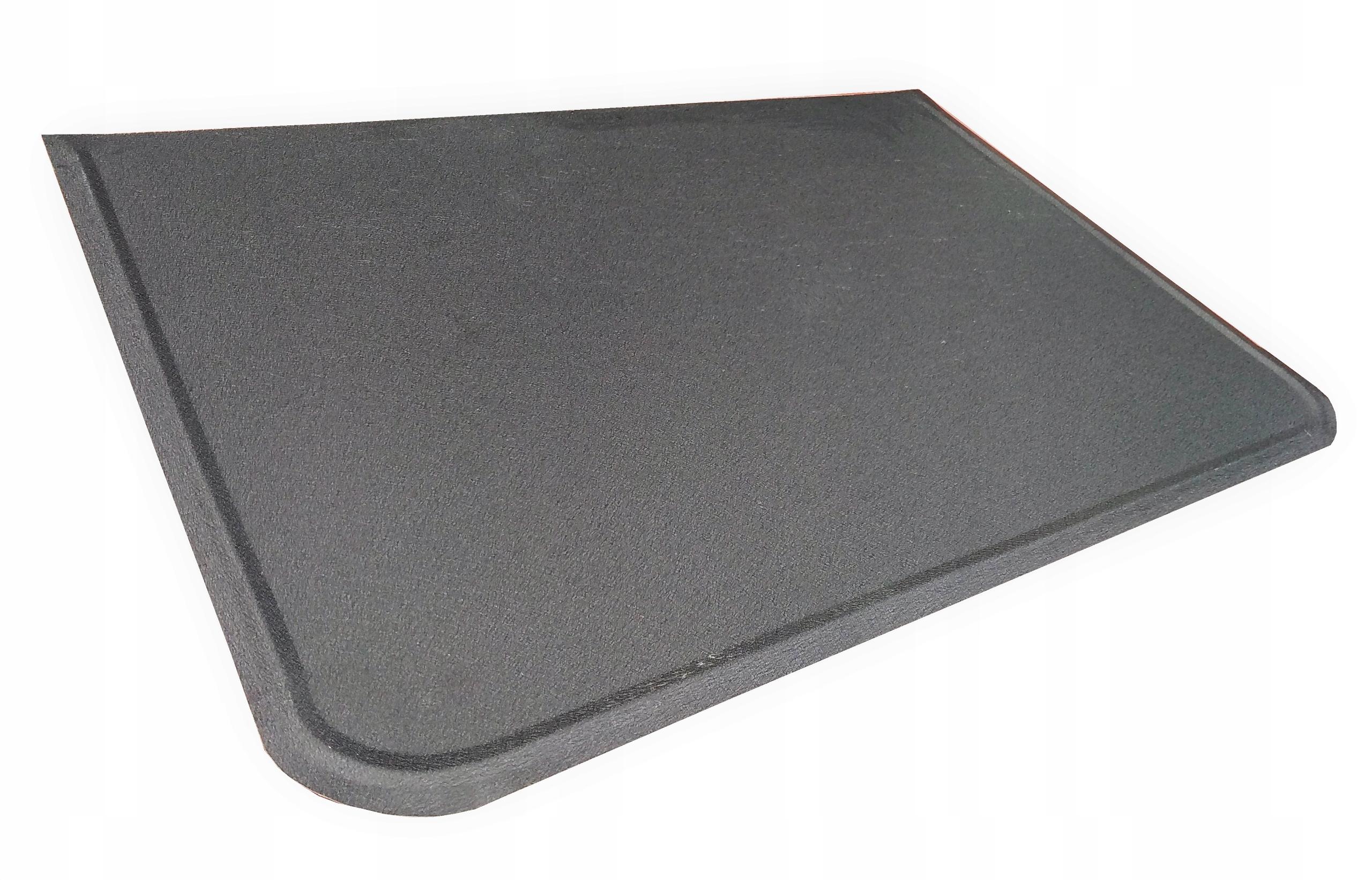 Plachta pod kachle, krb 40x80 čierna