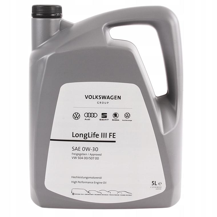 VAG VW Longlife III FE 504.00 507.00 0W30 5L