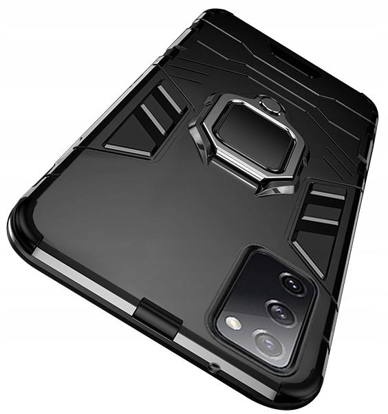 Etui do Samsung Galaxy S20 FE Pancerne Ring Szkło