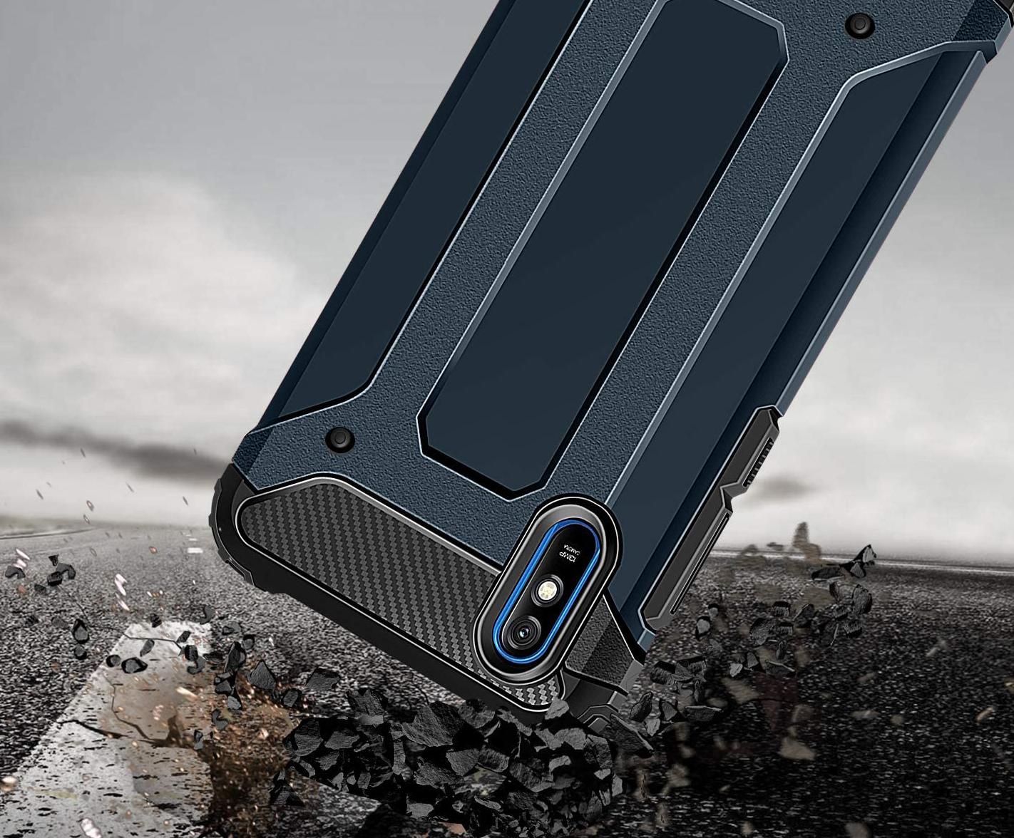Etui do Xiaomi Redmi 9A Pancerne Case Armor +Szkło Producent INNY