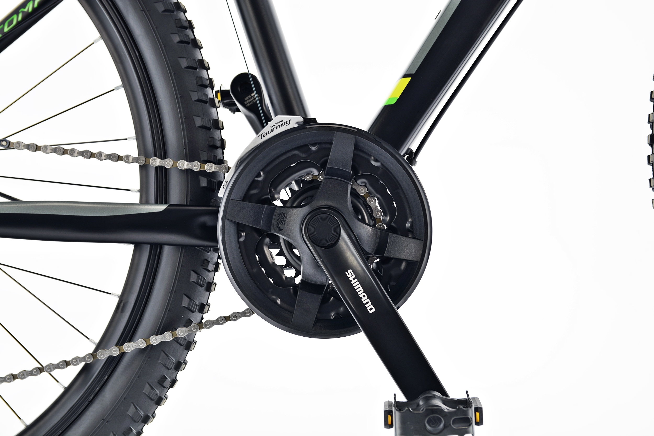 Rower MTB Kands 29 COMPER 21 czarno-seled 2021 Waga 15.4 kg