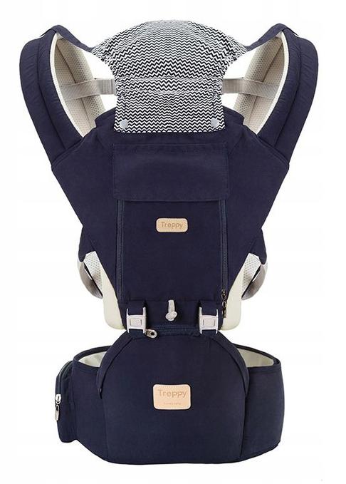 Nosidełko ergonomiczne biodrowe - siedzisko 12 w 1