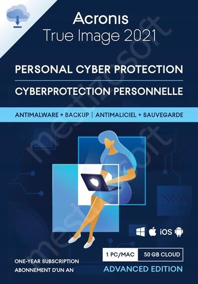 Acronis True Image 2021 + Dr.Web Antivirus 1PC Wersja produktu elektroniczna (kod aktywacyjny)