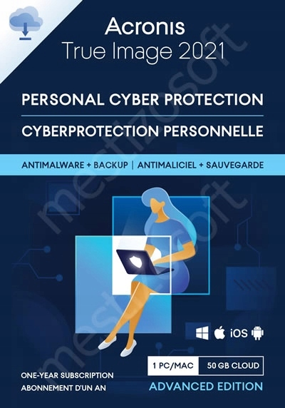 Acronis True Image 2021 + ESET Mobile Security 12M Producent Inny