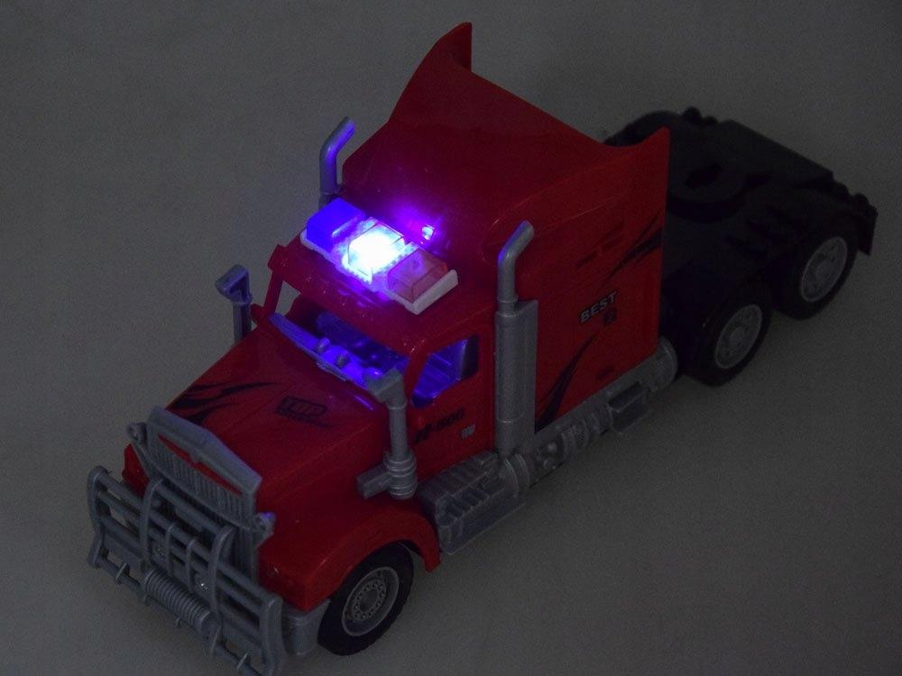 Tir Laweta + Traktor z Przyczepą Zestaw R/C RC0208 Seria TIR