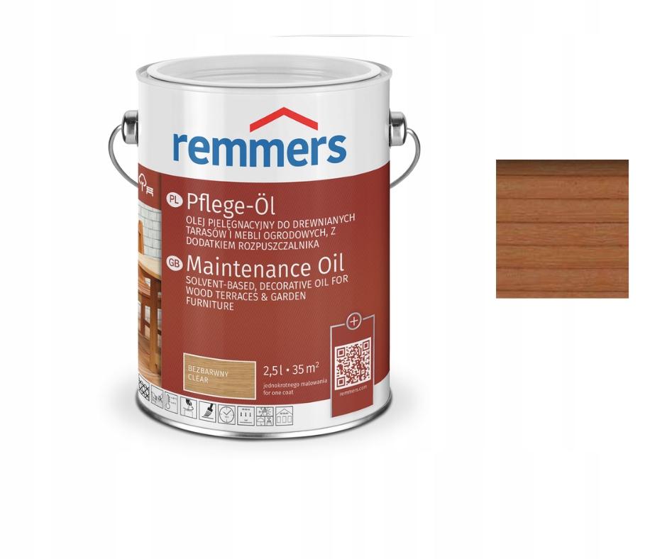 Remmers масло для террас, древесины 0,75 л BANGKIRAI