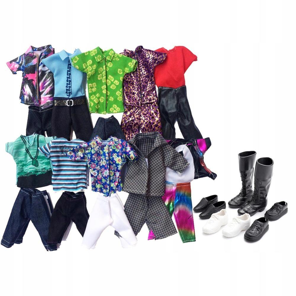 Besegad 10 набор моды Кен повседневная одежда для