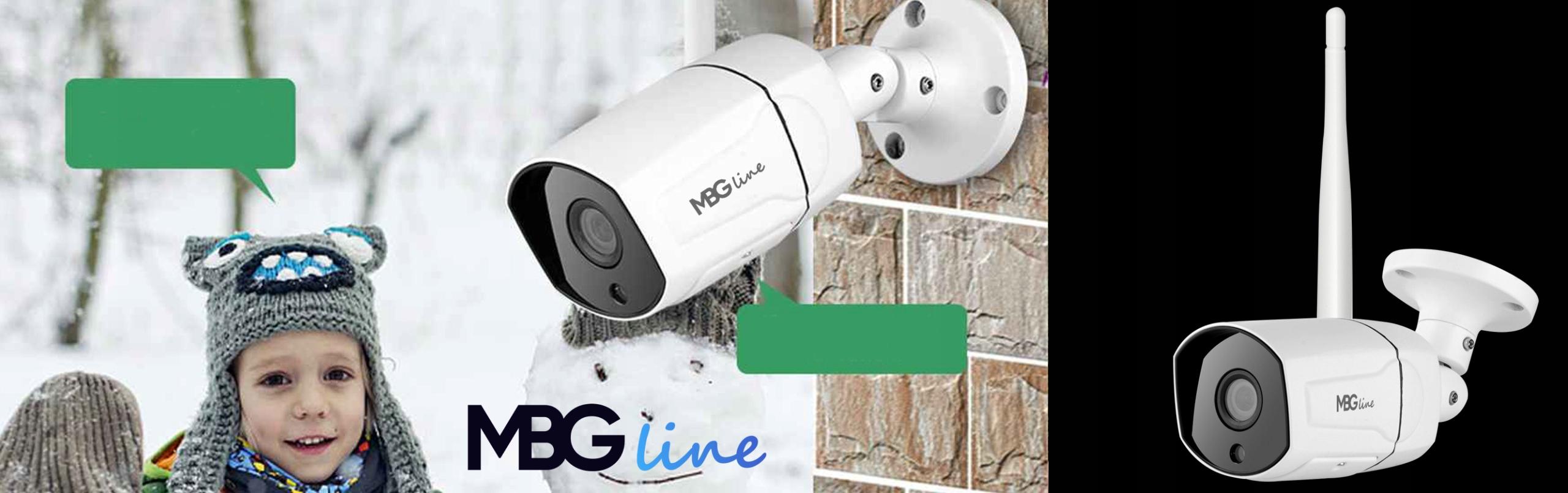 Zewnętrzna kamera IP H265 P2P UHD 5MPIX METAL WIFI Zasięg podczerwieni 30 m