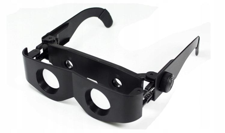 Lupané okuliare Zjasňovanie Zoom Binokulárne 400%