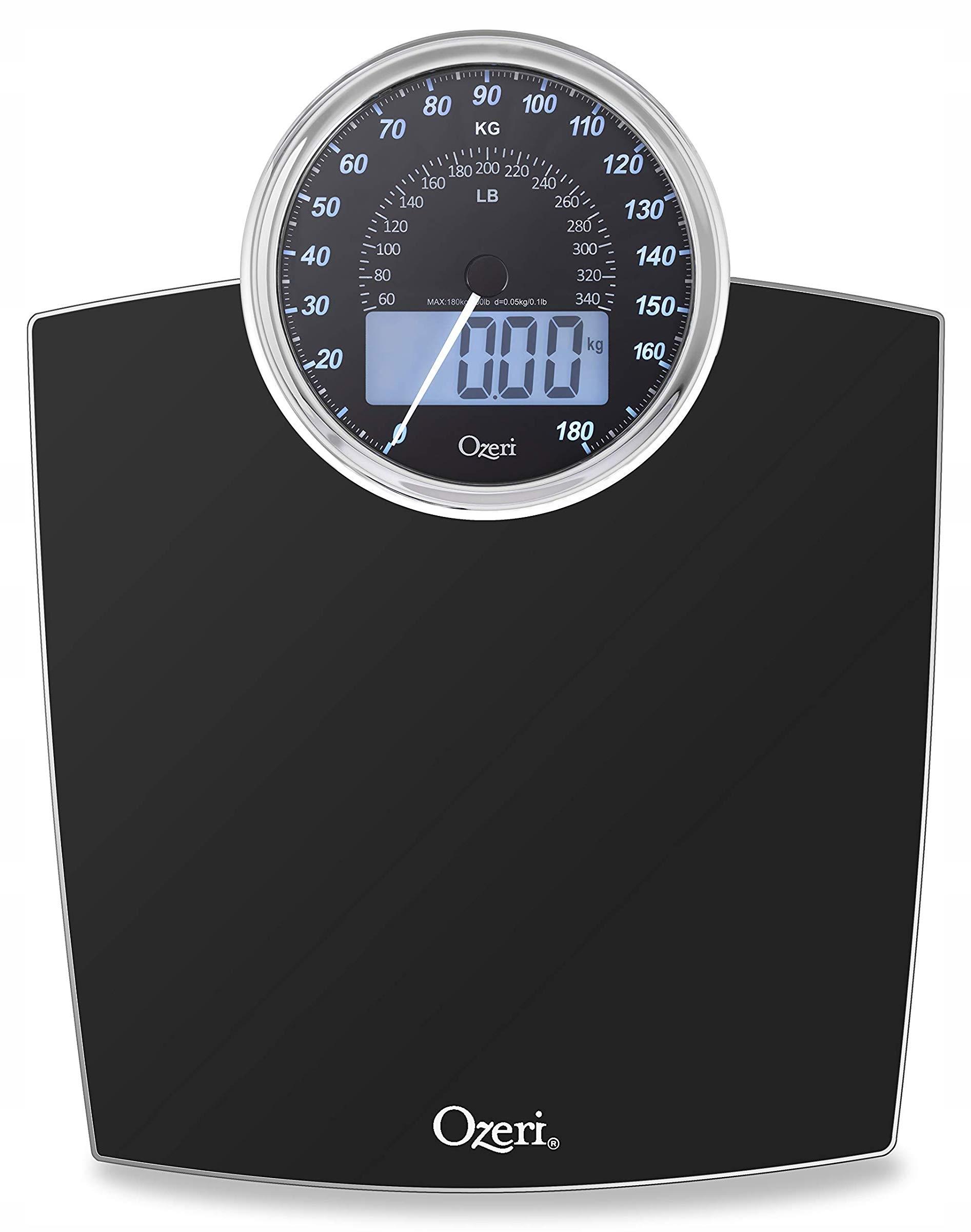 Ozeri Mechanická a digitálna retro kúpeľňová váha