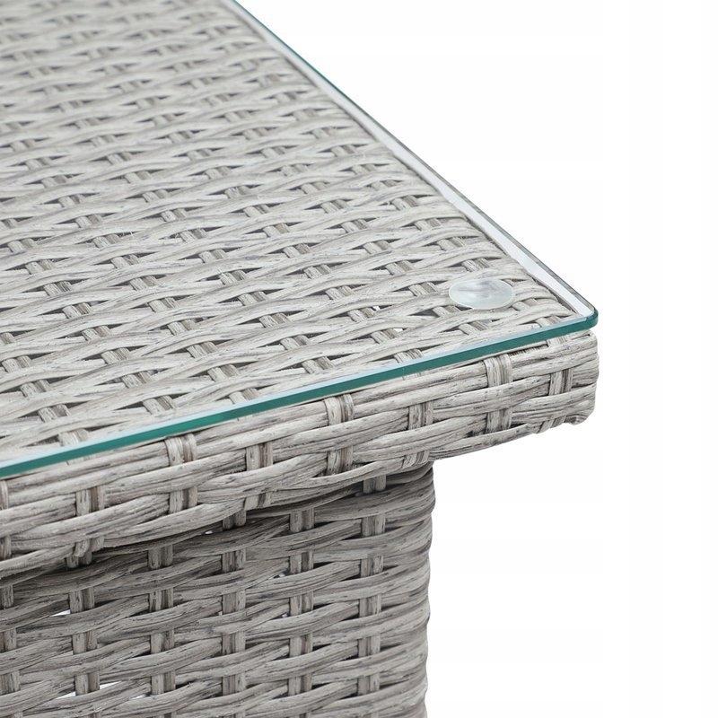 TABUĽKA ZAHRADY POLYATHANE 50x50 CREAMY Hmotnosť produktu s jednotkovým balením 9 kg