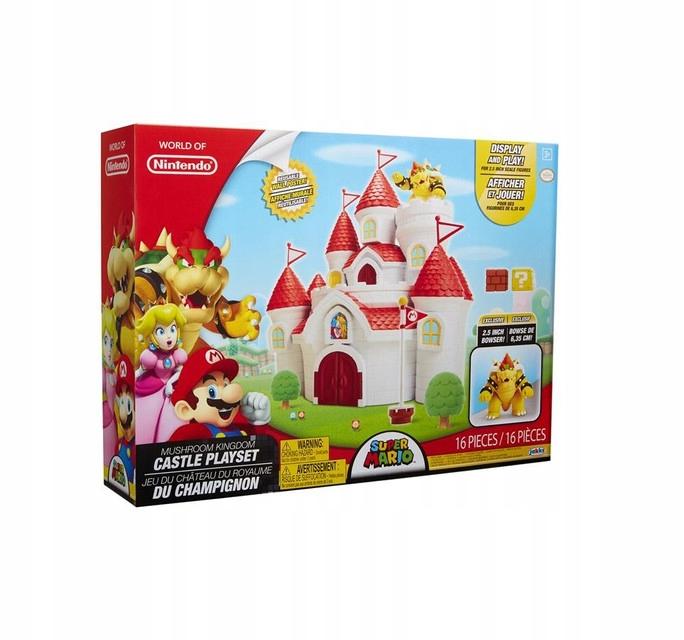Super Mario - hrad Hubser Kingdom Mushroom Kingdom