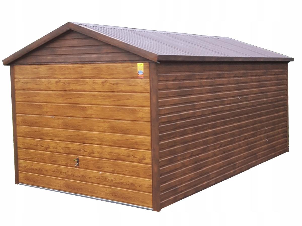 Оловянный гараж 3x6 Tinplate Наклонные накладки на ворота