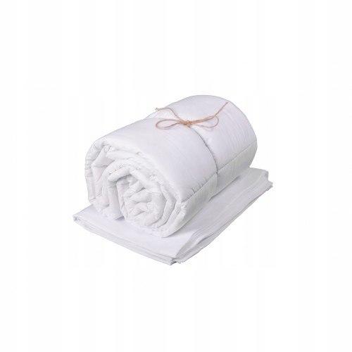 Ochraniacz na boki łóżeczka biały