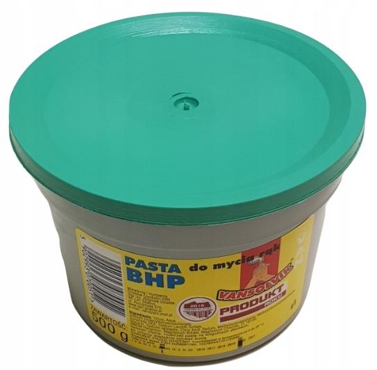 Паста BHP для мытья рук SOLVIK не песчаная