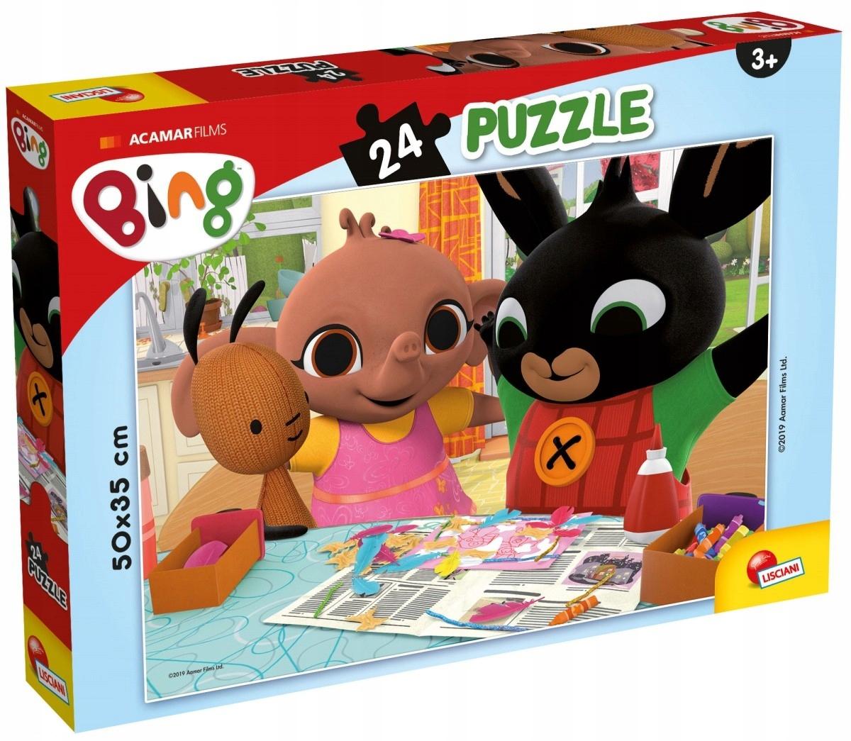 LISCIANI Puzzle Plus 24 Bing 3