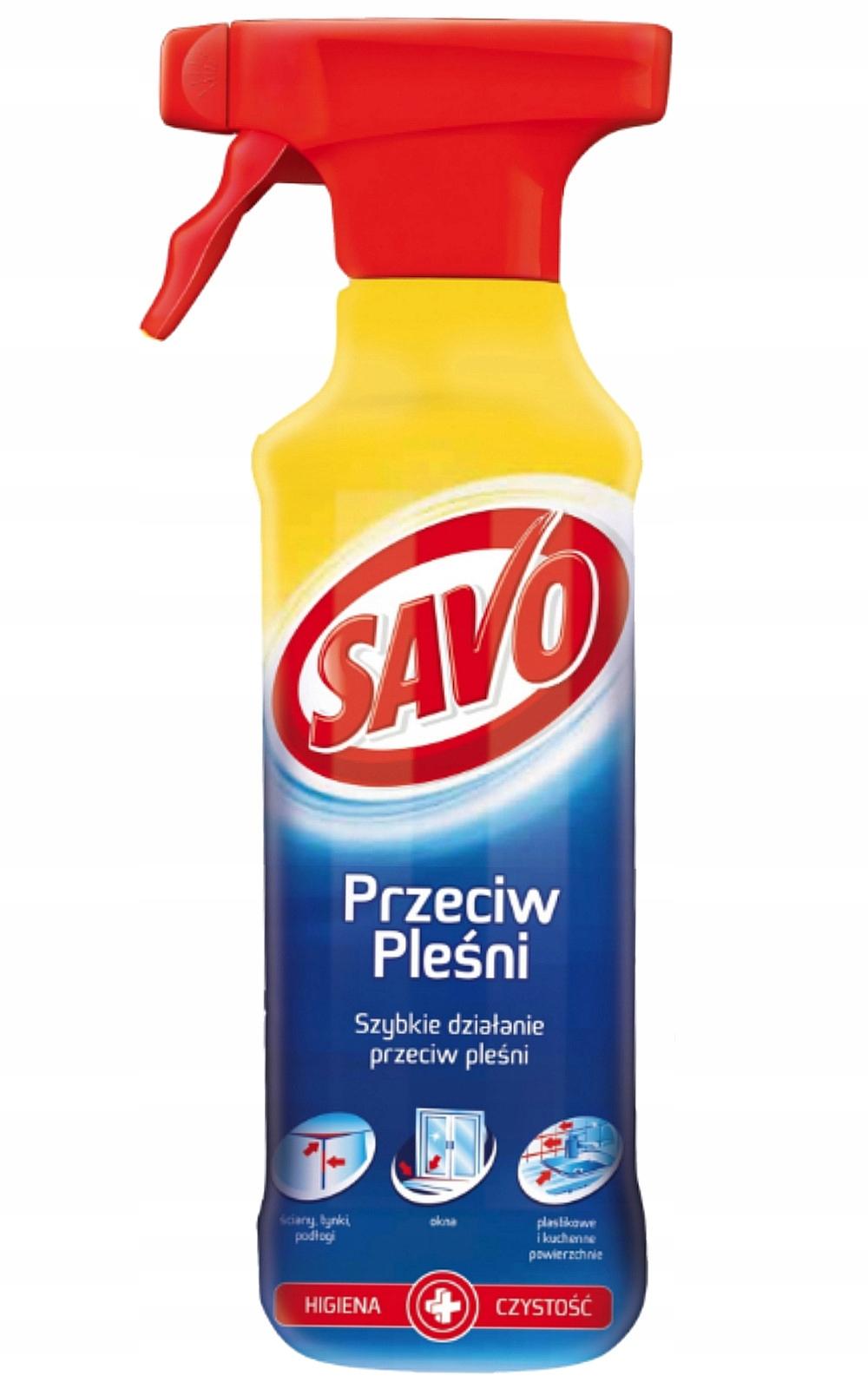 Спрей Savo Очистки на Плесень Грибы спрей 500мл