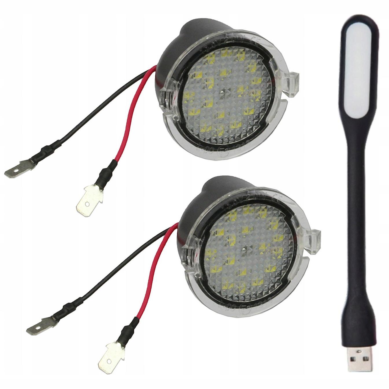 ford mondeo mk5 v s-max edge лампы led зеркал