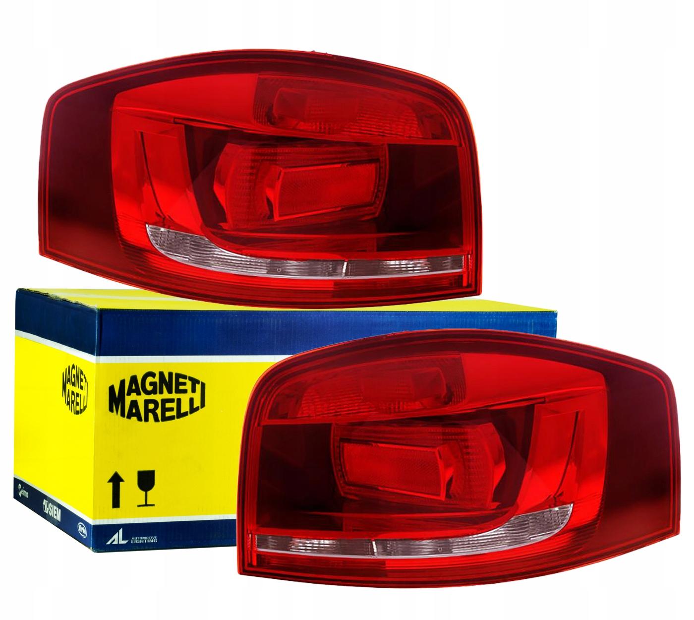 лампы сзади audi a3 8p 03-12 liftback комплект