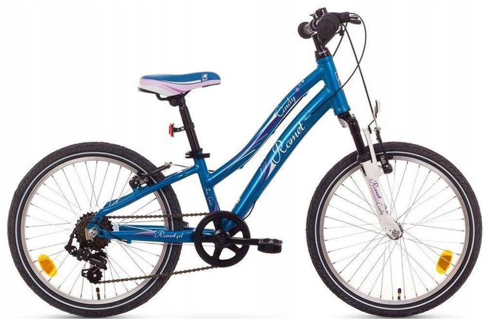 Rower dziecięcy 20 ROMET CINDY aluminiowy