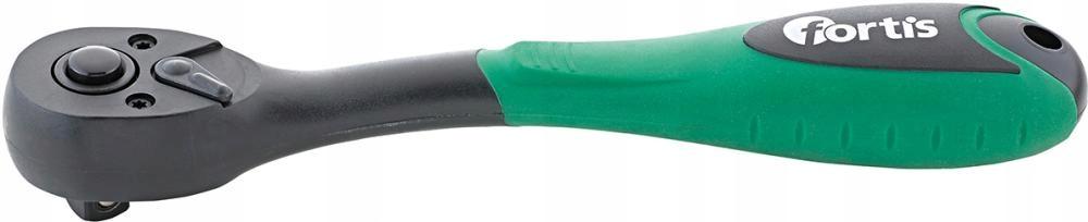 Трещотка двусторонняя 3/8 '' 200 мм с 72 зубьями FORTIS