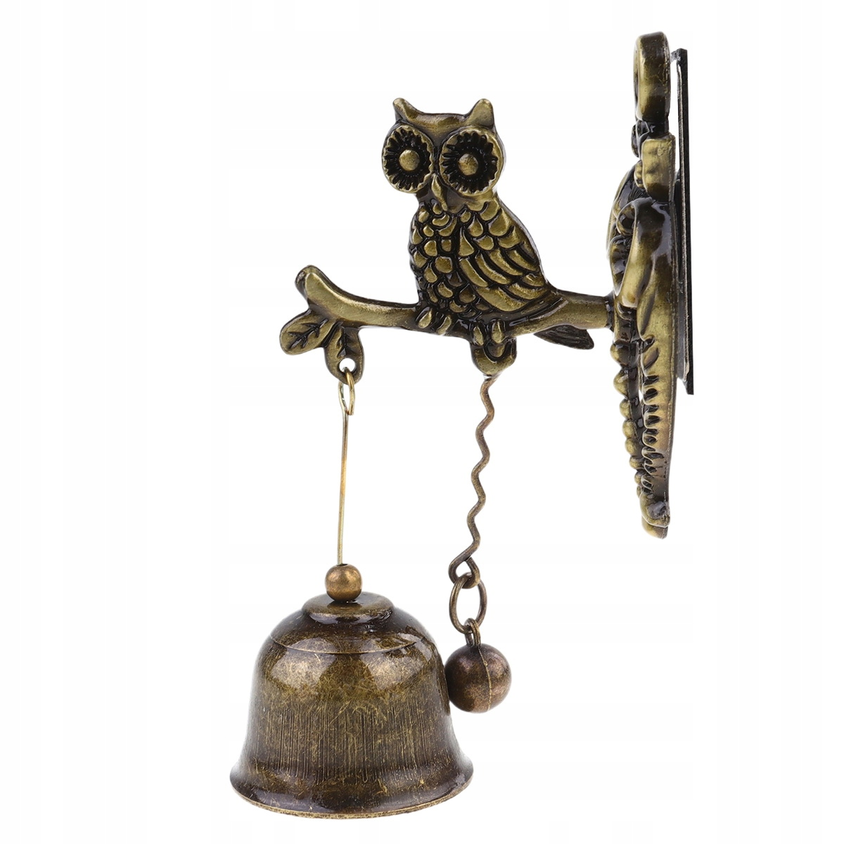 Domový zvonček retro sova malý zvonček