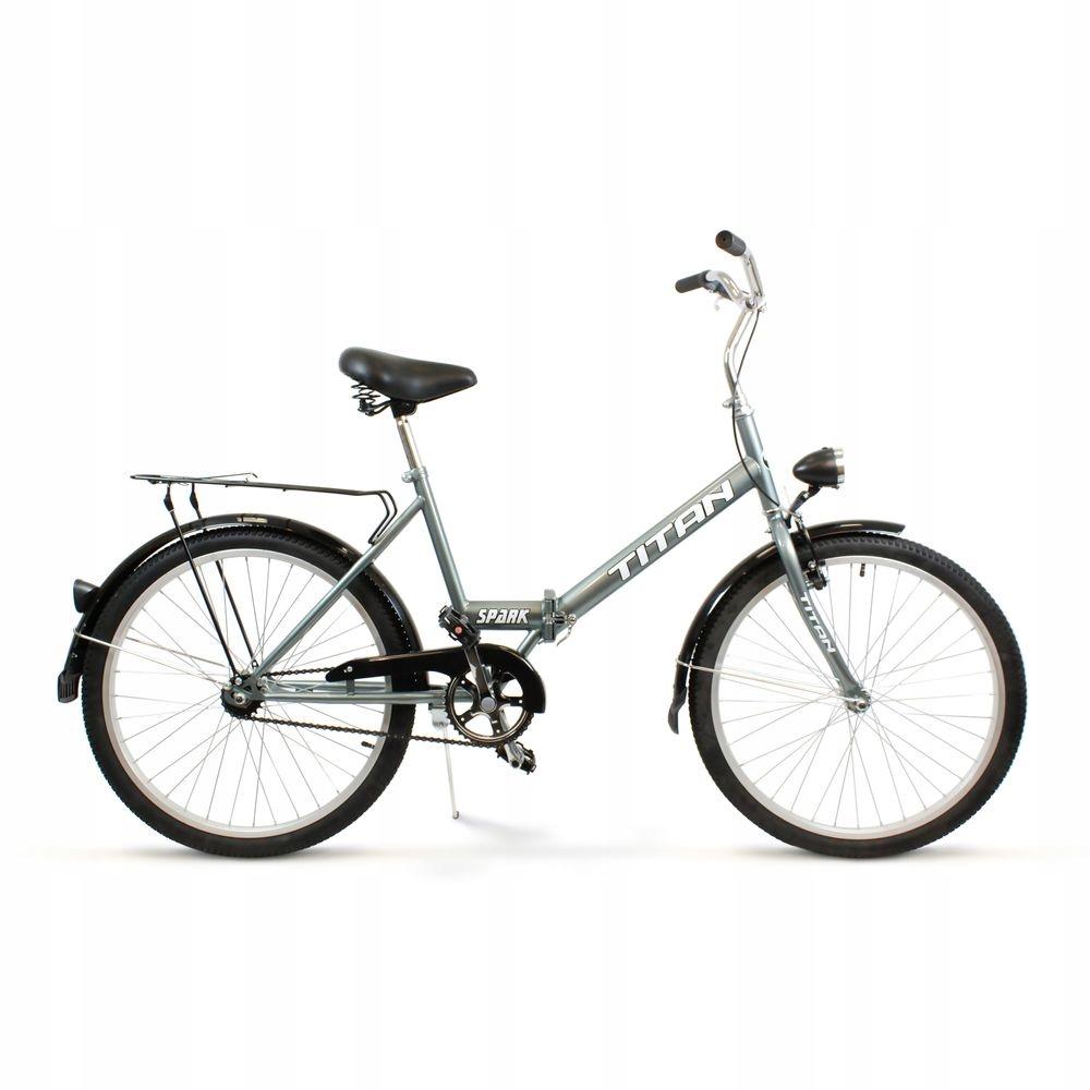 Klasický mestský bicykel Suwano TITAN, skladací 24