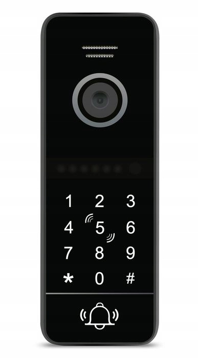 Wideodomofon IP Videodomofon WiFi BRELOKI TELEFON Kolor biały