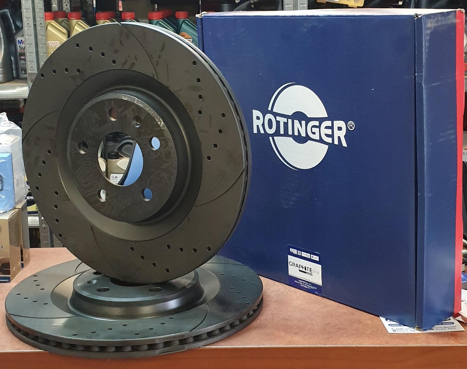 rotinger gt 20344-gl t5 диски вперед bmw e60 e61