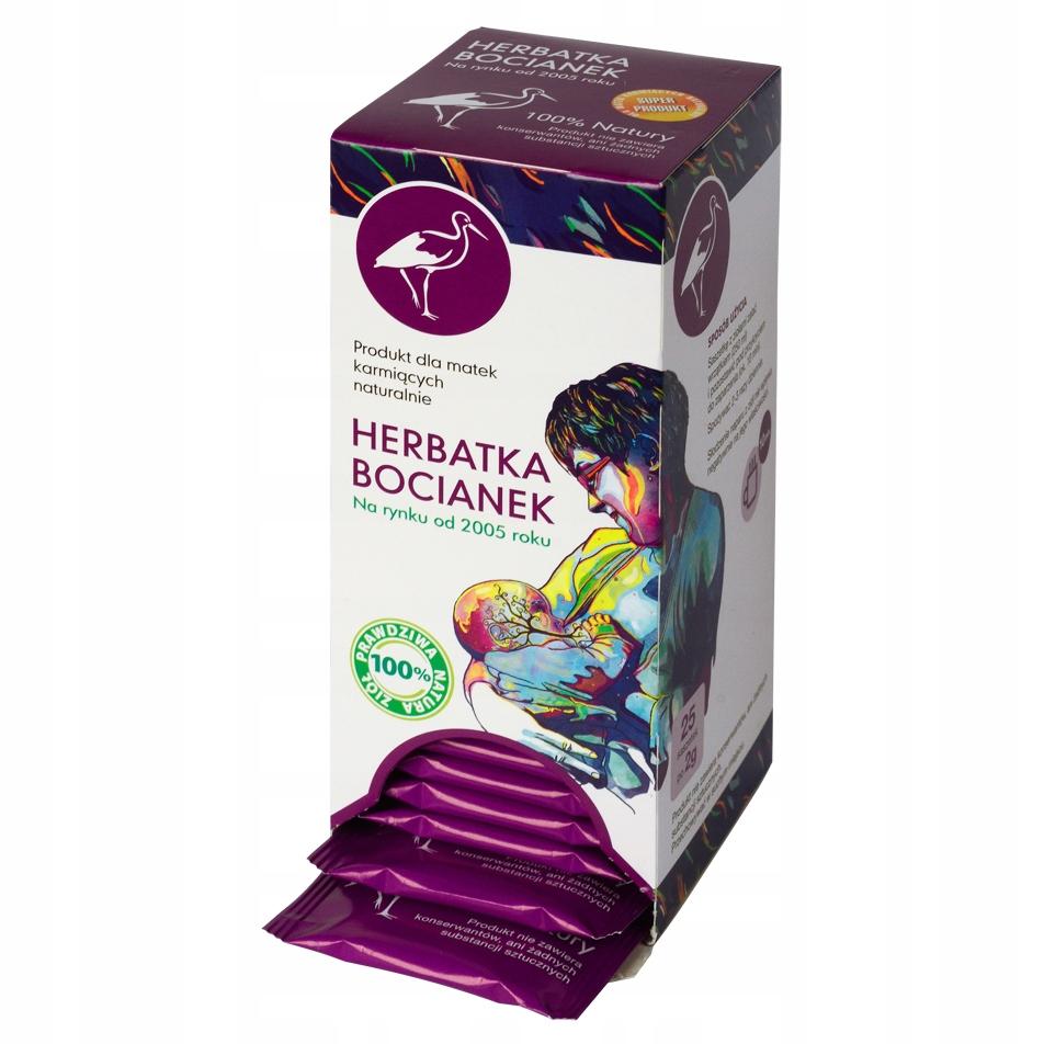 Herbatka Bocianek napar dla karmiących piersią