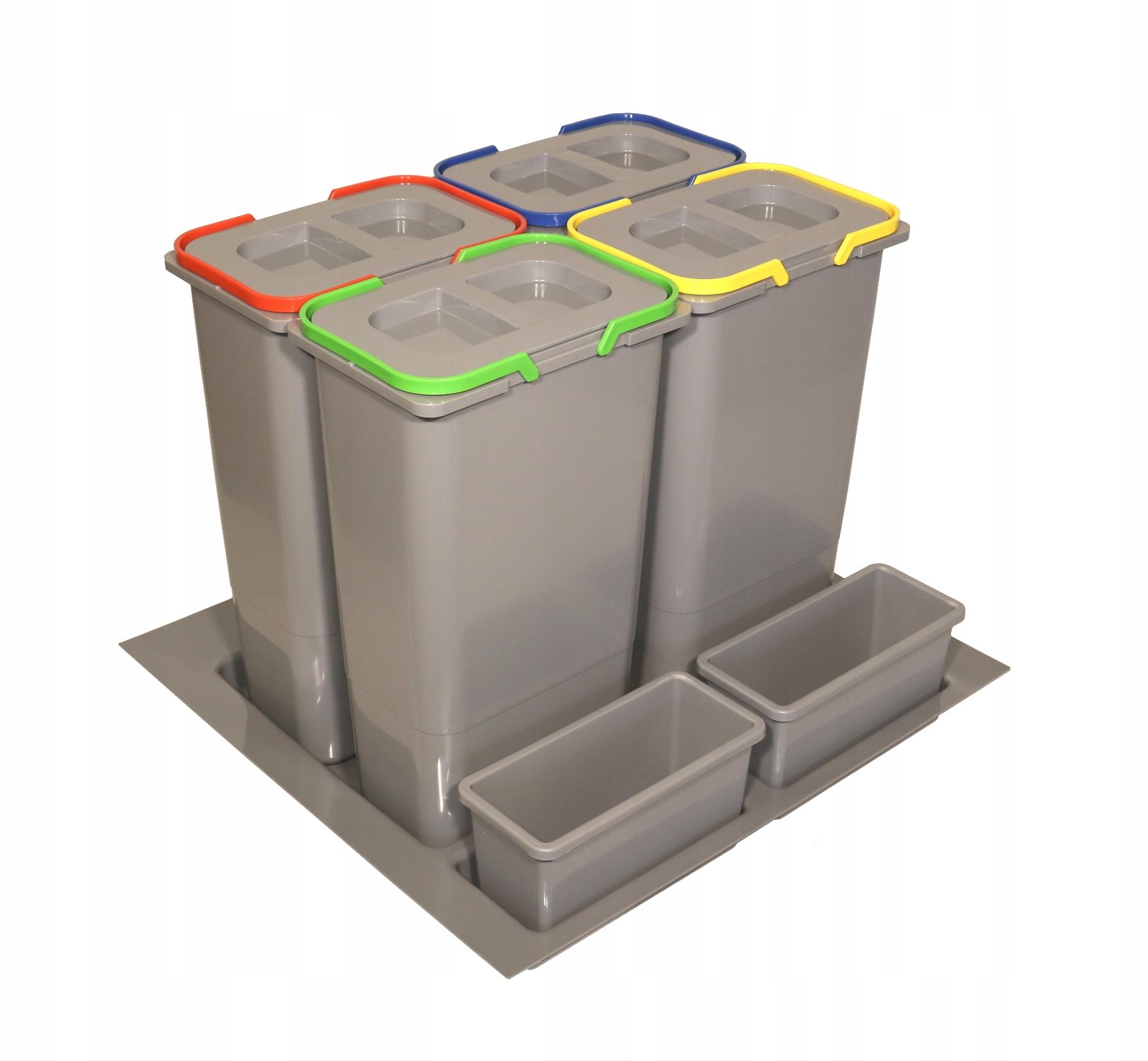 КОРЗИНА для мусора сортировщик в ящик H-400 60 4poj