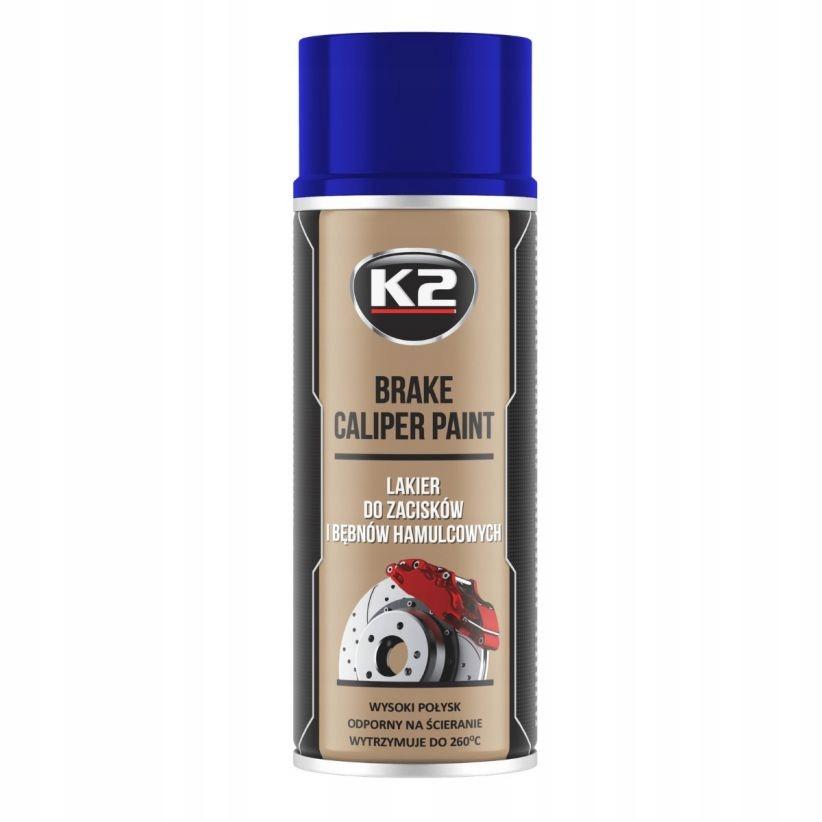 Краска-лак K2 для СИНИХ суппортов тормозного барабана