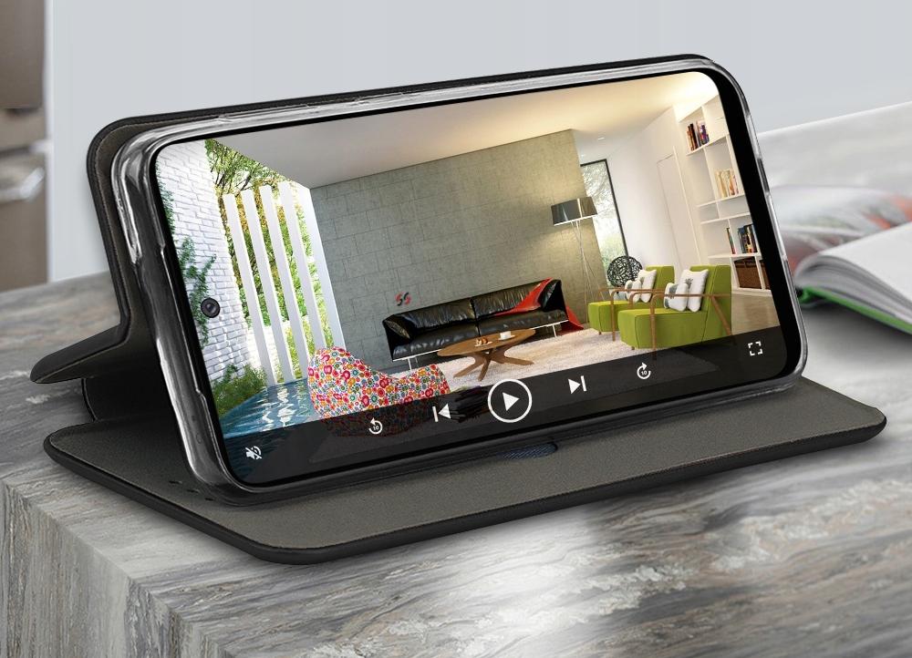 Etui do LG K52 Skórzane Magnet Case + SZKŁO 9H Przeznaczenie LG