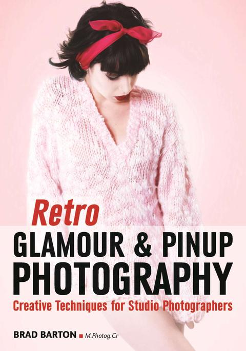 Retro glamour a plagátové fotografie