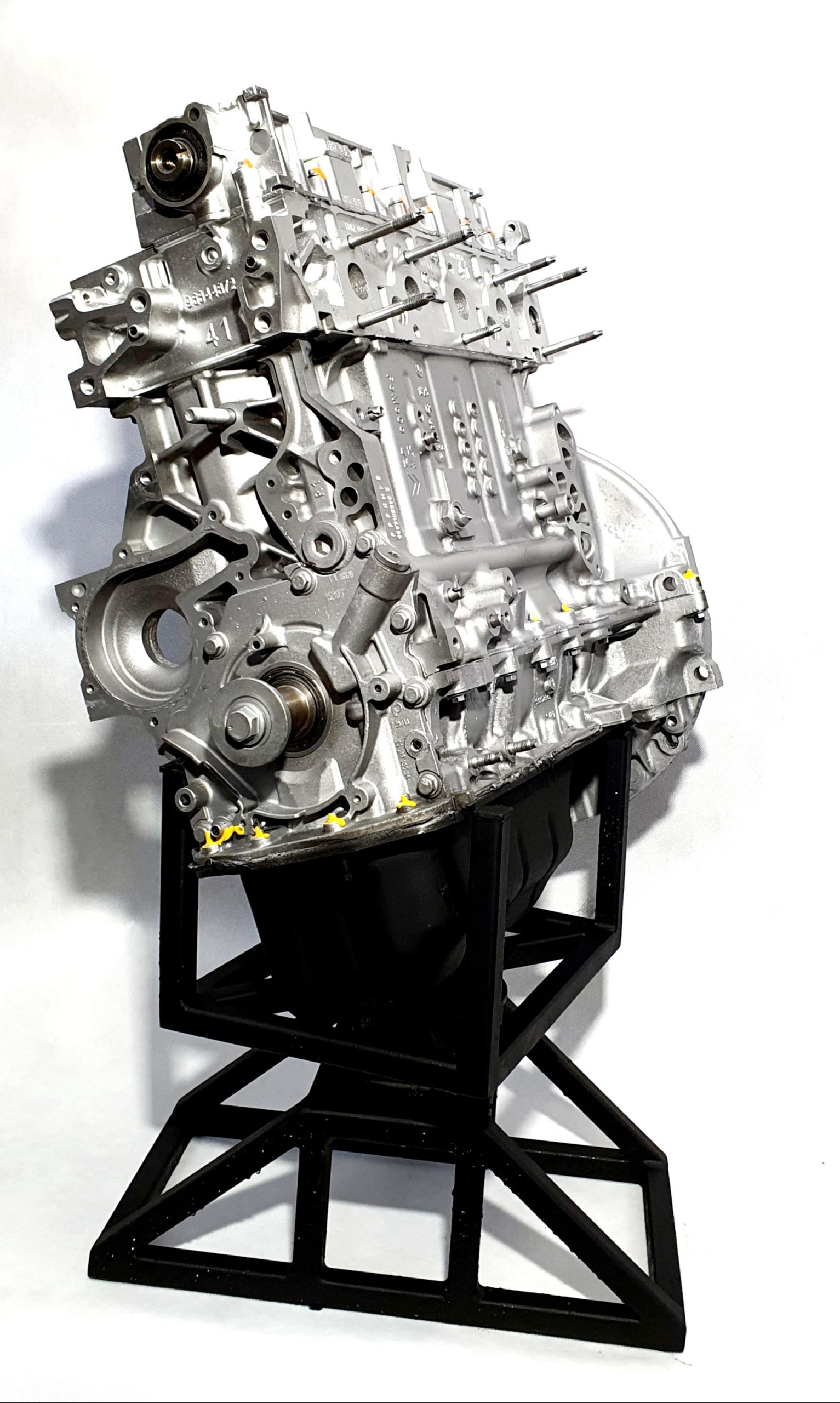 двигатель 16 hdi 9hh peugeot citroen+regenerowany