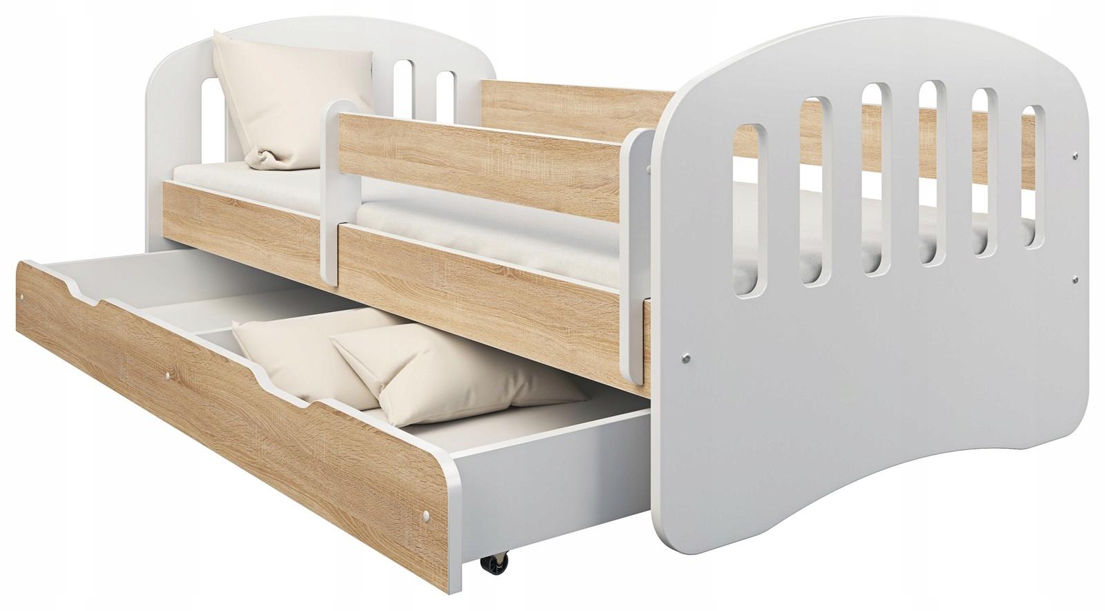 Detská posteľ 160x80 box a matrace ZÁBAVA