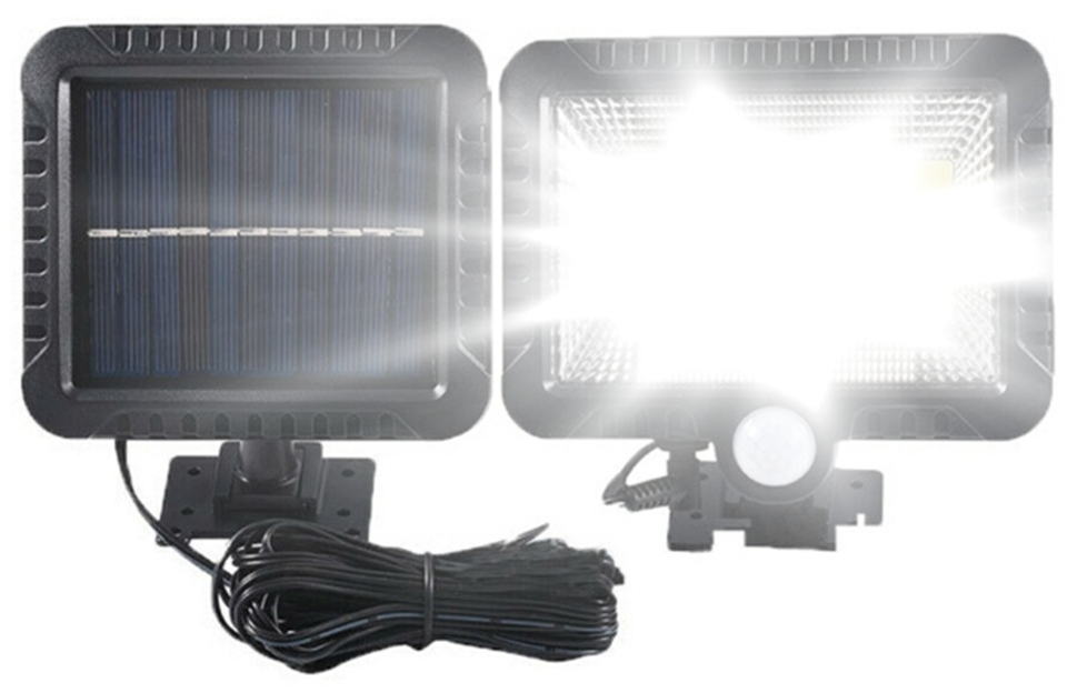 Solarna lampa z czujnikiem ruchu 100 LED