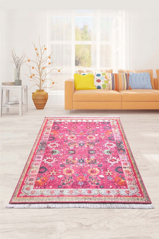 Retro autentický dekoratívny koberec, 120x180 cm