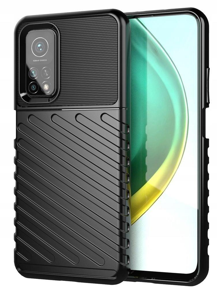 Etui do Xiaomi Mi 10T Pancerne Case + Szkło 9H Funkcje pochłanianie wstrząsów