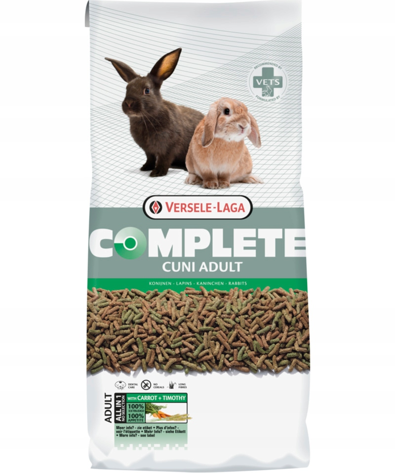 VERSELE-LAGA Cuni Adult Complete для кроликов 8 кг