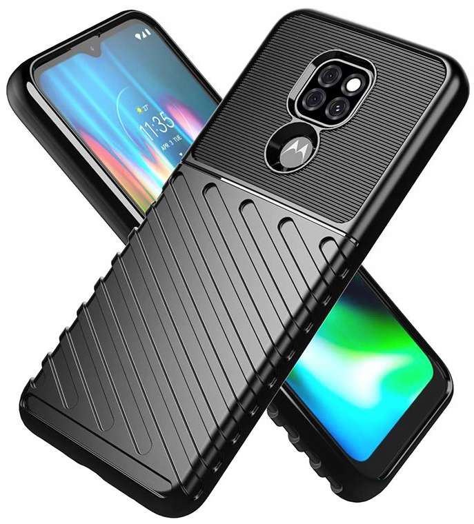 Etui do Motorola Moto G9 Play Pancerne Case +Szkło