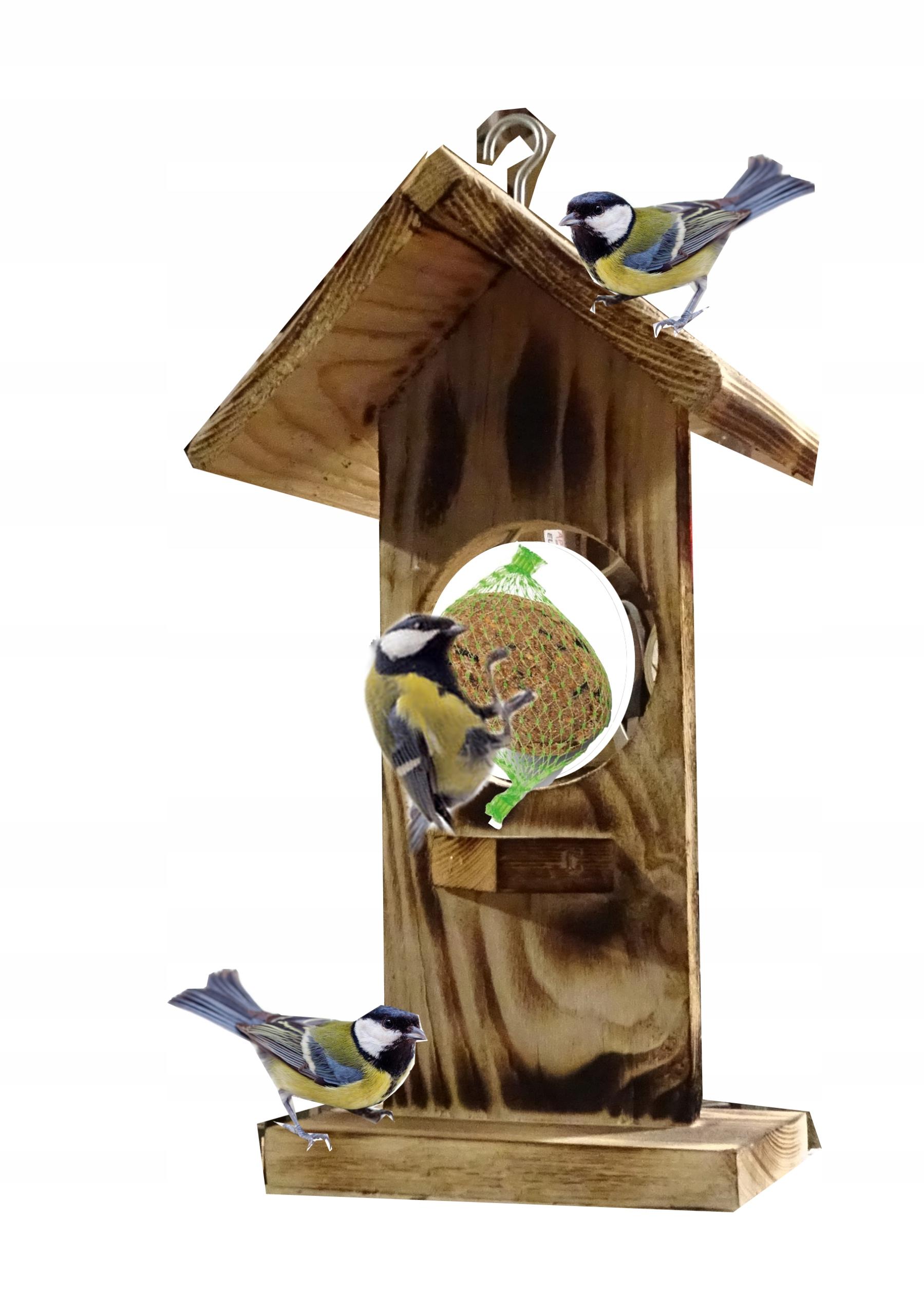 karmnik domek kulka dla ptaków